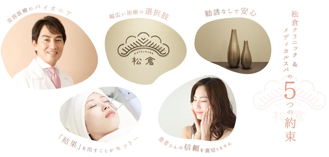 松倉クリニックの5つの約束